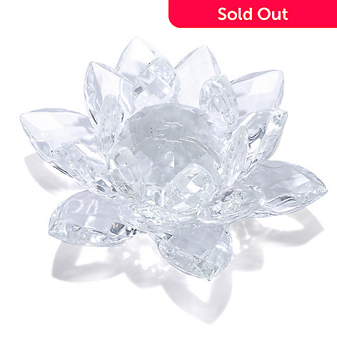 431-050 - Flora's Cut Crystal Lotus Flower