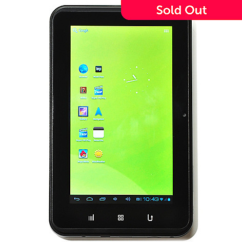431-070 - Zeki 7'' 8GB Android™ 4.0 Ice Cream Sandwich Multi-Touch Screen Tablet