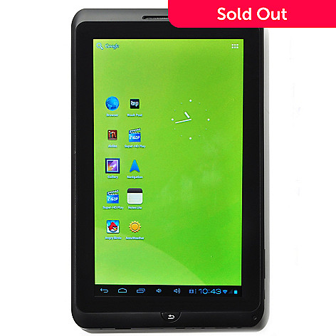 431-072 - Zeki 10'' 8GB Android™ 4.0 Ice Cream Sandwich Multi-Touch Screen Tablet