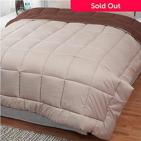 431-213 - Cozelle® Microfiber Reversible Down Alternative Comforter