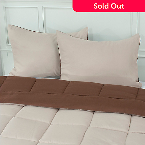 431-214 - Cozelle® Microfiber Set of Two Reversible Shams