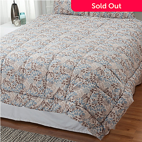 431-217 - Cozelle® ''Meadow'' Microfiber Down Alternative Comforter
