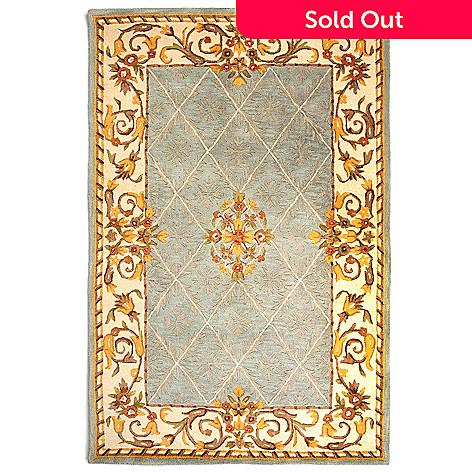 431-258 - Bashian ''Avignon'' Handmade 100% Wool Rug