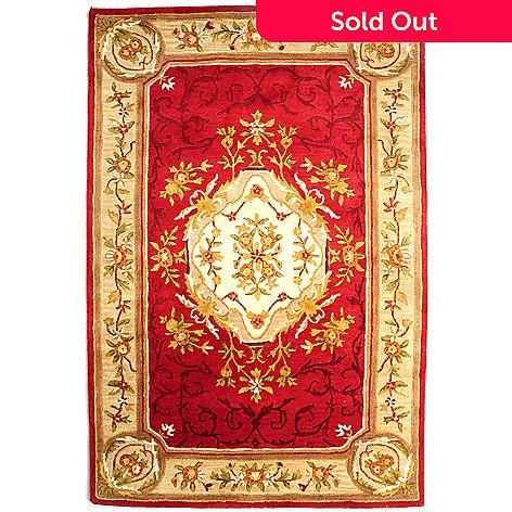 431-259 - Bashian Rugs Renaissance Inspired Hand-Tufted 100% Wool Rug