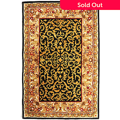 431-262 - Bashian ''Brocade'' 5' x 8' or 8' x 10' Hand Tufted 100% Wool Rug