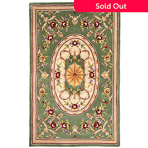 431-288 - Global Rug Gallery™ ''Imperial Palace'' 5' x 8' or 8' x 10' Hand Tufted 100% Wool Rug