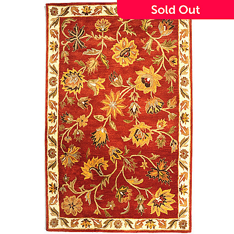 431-309 - Bashian ''Fulham'' 5' x 8' or 8' x 10' Hand Tufted 100% Wool Rug