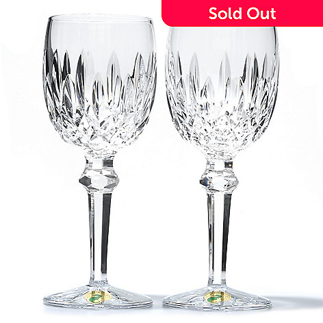 431-329 - Waterford Crystal Keane Set of Two 5.5 oz Wine Glasses