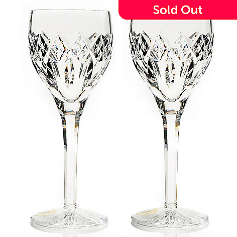 431-338 - Waterford Crystal Brianna Set of Two 4 oz Sherry Glasses