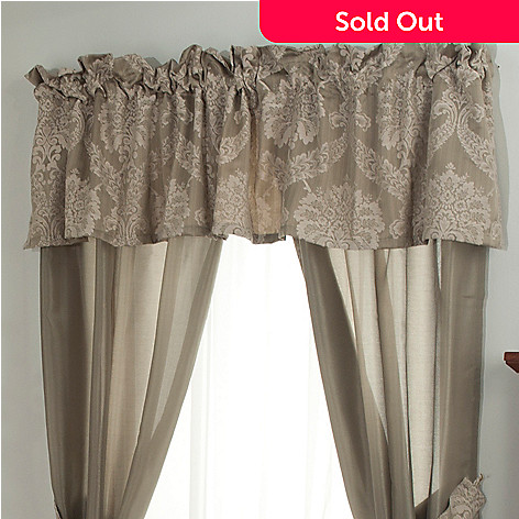 431-352 - North Shore Linens™ ''Jillian'' Valance