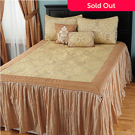 431-353 - North Shore Linens™ ''Tatiana'' Five-Piece Bedspread Set