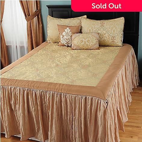 431-353 - North Shore Linens™ ''Tatiana'' Five-Piece Bedspread Set