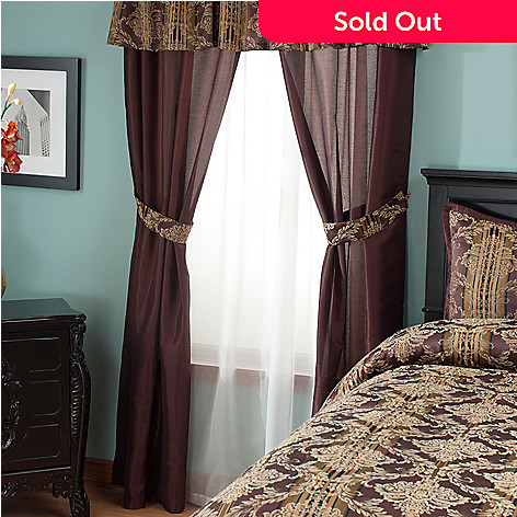 431-363 - North Shore Linens™ ''Marian'' Four-Piece Window Set