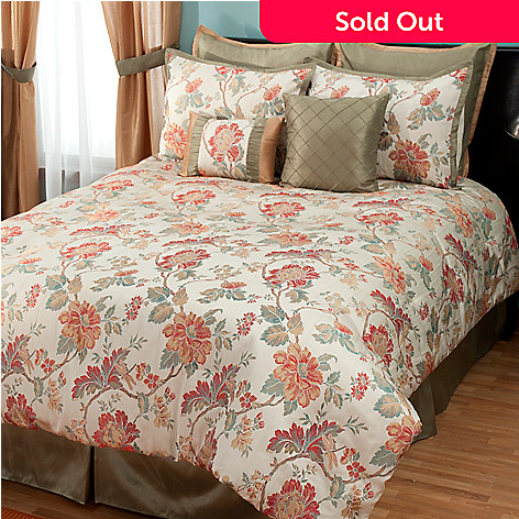 431-369 - North Shore Living™ ''North Hampton'' Eight-Piece Bedding Ensemble