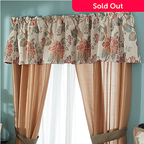 431-371 - North Shore Linens™ ''North Hampton'' Window Valance