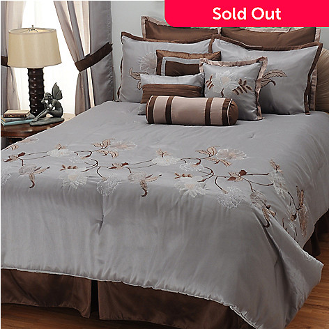 431-375 - North Shore Linens™ ''Triomphe'' 10-Piece Bedding Ensemble