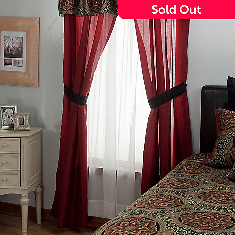 431-379 - North Shore Living™ ''Nairobi'' Four-Piece Window Set