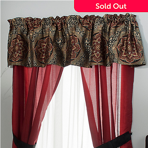 431-380 - North Shore Linens™ ''Nairobi'' Window Valance