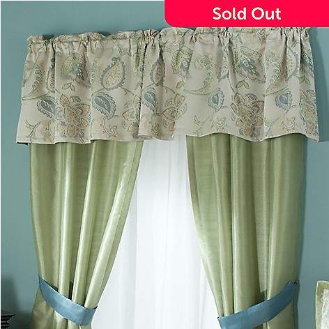431-383 - North Shore Linens™ ''Minorca'' Window Valance