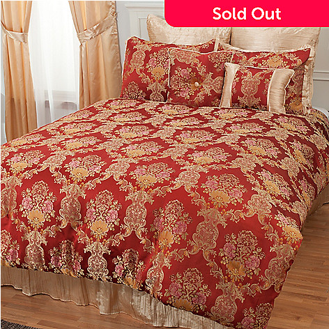 431-384 - North Shore Linens™ ''Annalee'' Eight-Piece Bedding Ensemble