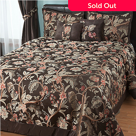 431-391 - North Shore Linens™ ''Belmont'' Five-Piece Bedspread Set