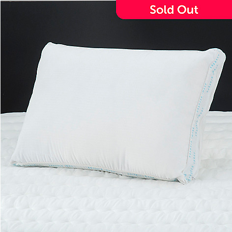 431-396 - Sharper Image Adjustable PureBlu™ Memory Foam Pillow
