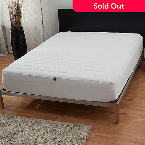 431-401 - The Sharper Image® Washable Memory Foam Mattress Pad