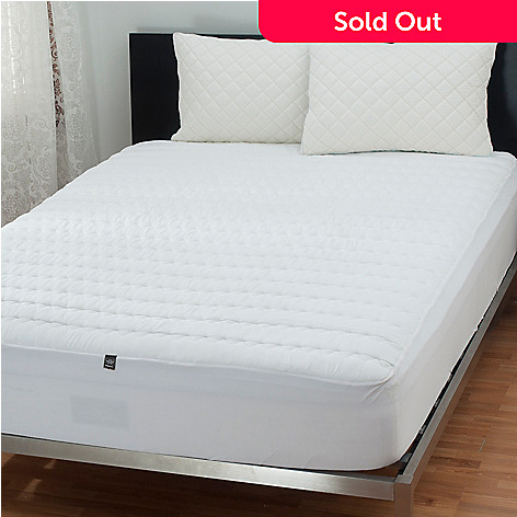431-402 - Sharper Image Memory Foam Mattress Pad w/ Two Pillow Protectors