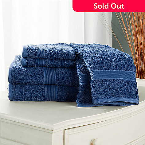 431-411 - Cozelle® Classic 100% Cotton Six-Piece Towel Set