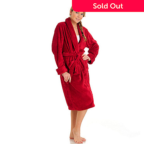 431-420 - Cozelle® Plush Robe w/ Gift Box