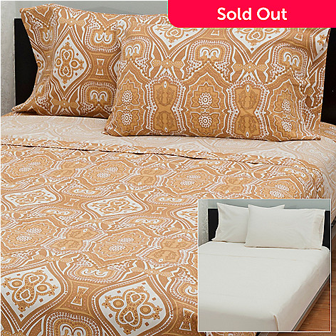 431-424 - Cozelle® ''Imperial'' Flannel Set of Two Four-Piece Sheet Sets