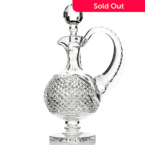 431-556 - House of Waterford Prestige Collection 20 oz Crystal Claret Decanter