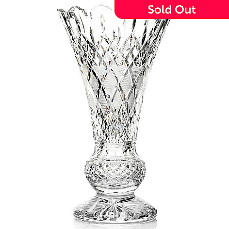 431-557 - House of Waterford® Lismore Limited Edition 14'' Crystal Tower Vase