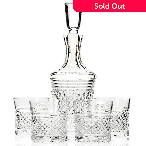 431-561 - House of Waterford® Limited Edition Five-Piece Crystal Decanter Set