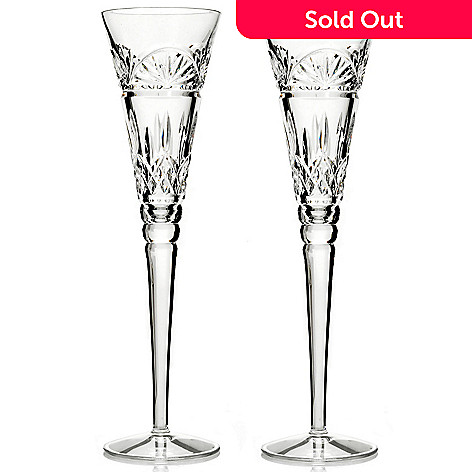 431-562 - Waterford® Crystal Lismore Set of Two 6 oz Toasting Flutes