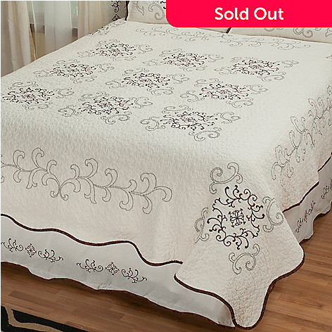 431-740 - North Shore™ Collectible Quilts ''Gloria'' Limited Edition 100% Cotton Quilt