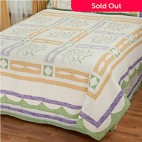 431-743 - North Shore™ Collectible Quilts ''Jasper'' Limited Edition Cotton Quilt