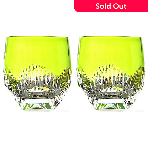 431-745 -  Waterford Crystal Mixology Talon Set of Two 10 oz Double Old Fashioned Glasses