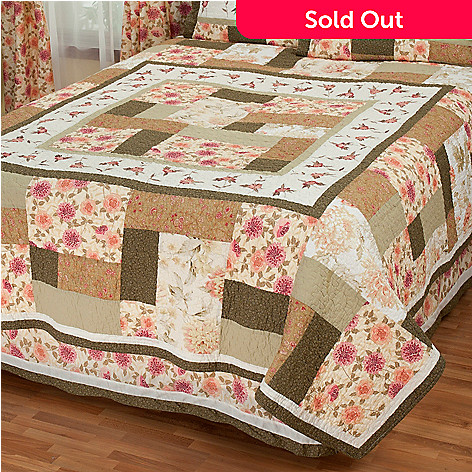 431-749 - North Shore™ Collectible Quilts ''Marquette'' Limited Edition 100% Cotton Quilt