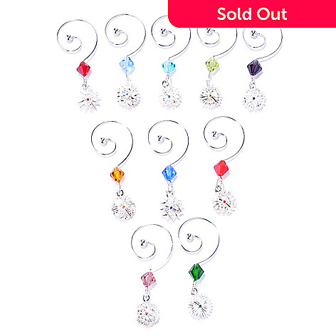 431-756 - Waterford Crystal Snowflake Wishes Set of 10 Wine Charms