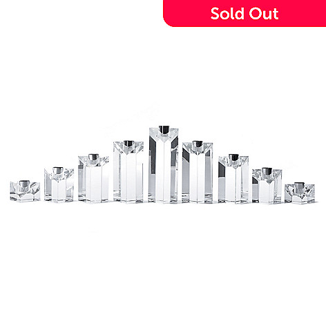 431-771 - Marquis® by Waterford® Nine-Piece Crystal Menorah