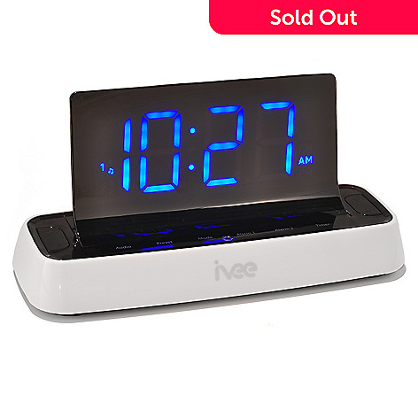 431-772 - ivee™ flex™ 5'' LED Screen Voice Controlled Talking Radio & Alarm Clock
