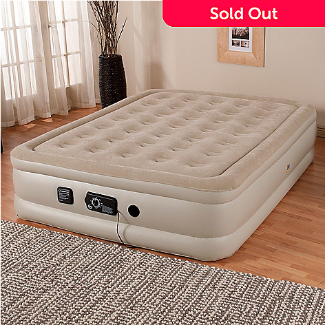 431-849 - Serta Perfect Sleeper® 18'' Profile Air Mattress w/ Never Flat™ Pump