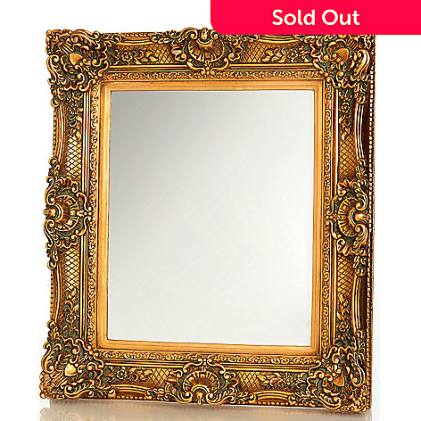 431-877 - Style at Home with Margie 34'' Marlone Guilded Wall Mirror