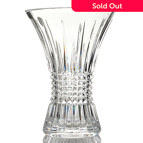 431-893 - Waterford Crystal Lismore Diamond 8'' Vase