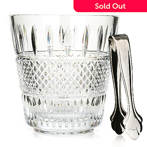 431-897 - Waterford® Crystal Irish Lace Ice Bucket w/ Tongs