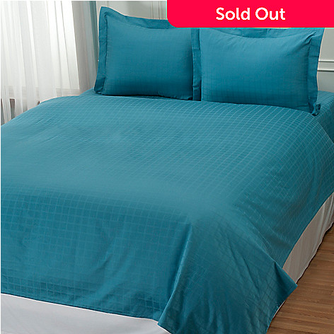 431-982 - North Shore Linens™ 600TC Egyptian Cotton SureSoft® Three-Piece Duvet Set