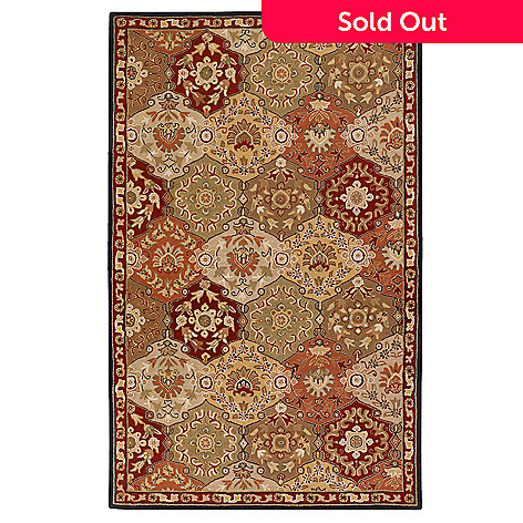 431-983 - Surya ''Grand'' Hand Tufted Wool Rug