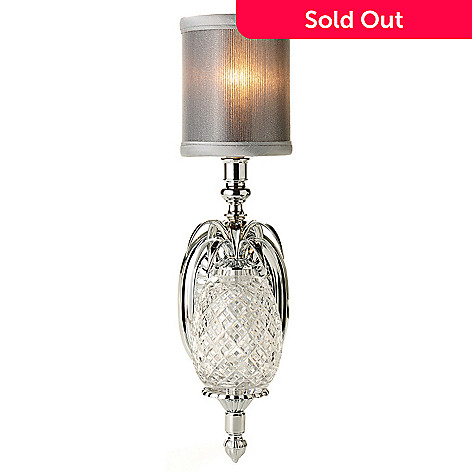 431-993 - Waterford® Crystal 18'' Hospitality Wall Sconce