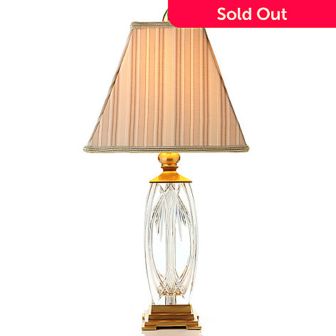 432-001 - Waterford® Crystal Finn 26'' Table Lamp